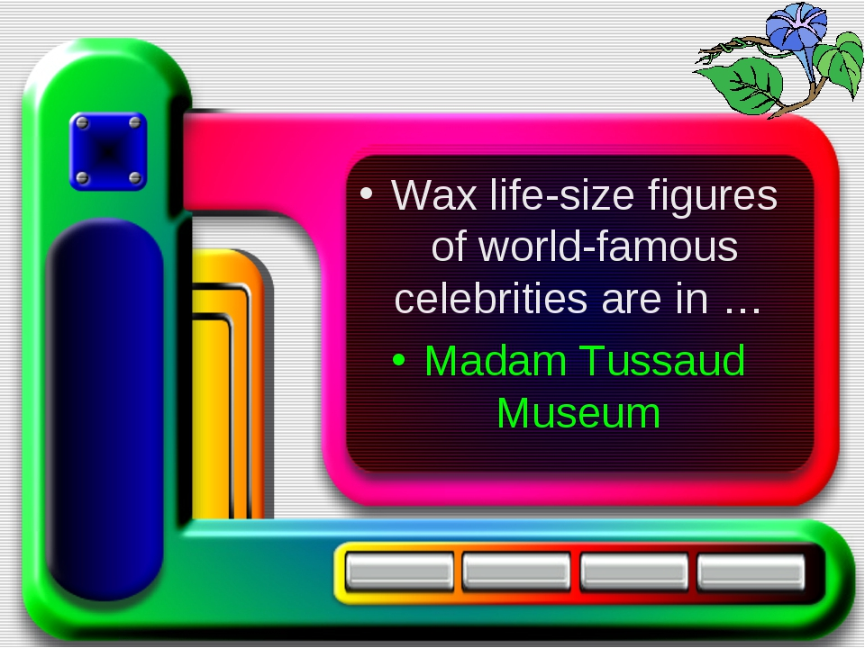 Wax life-size figures of world-famous celebrities are in … Madam Tussaud Mus...