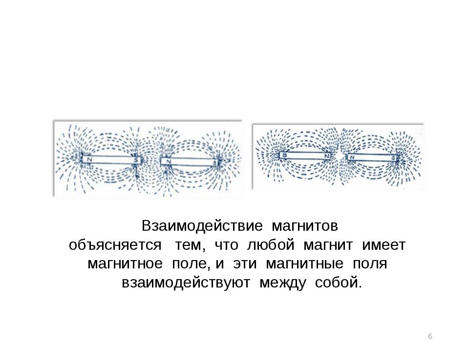 * Взаимодействие магнитов объясняется тем, что любой магнит имеет ма...