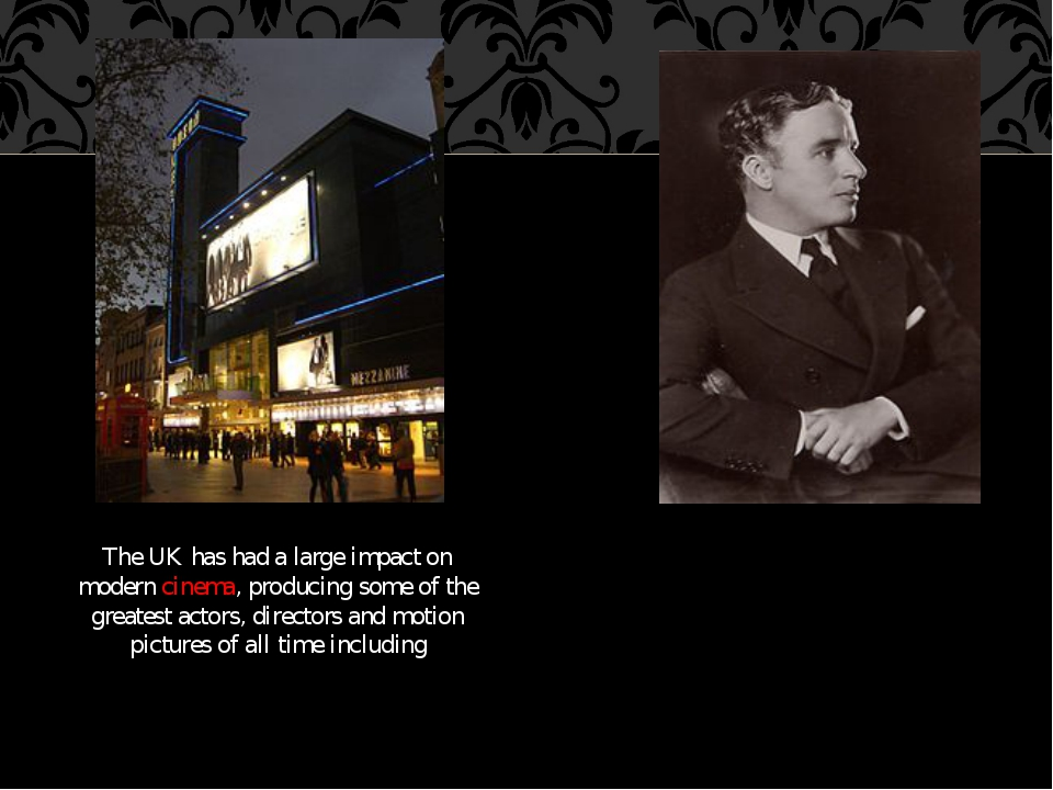 The UK has had a large impact on modern cinema, producing some of the greates...