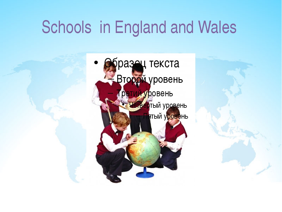 Schools in England and Wales
