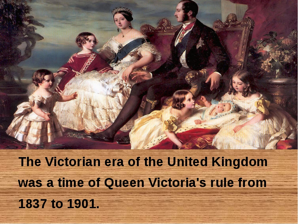 The Victorian era of the United Kingdom was a time of Queen Victoria's rule...