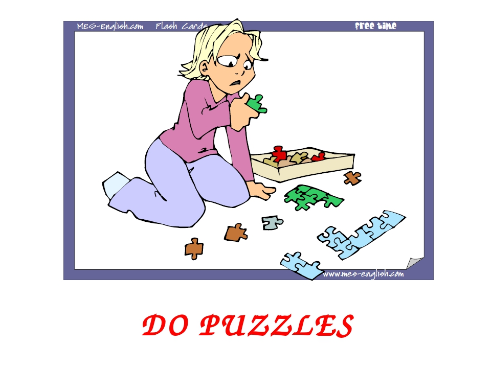 DO PUZZLES