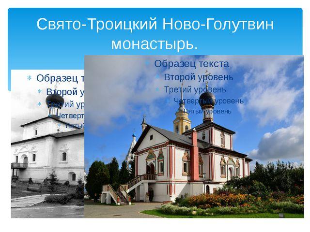 Свято-Троицкий Ново-Голутвин монастырь.