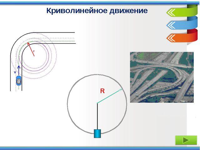 R Криволинейное движение