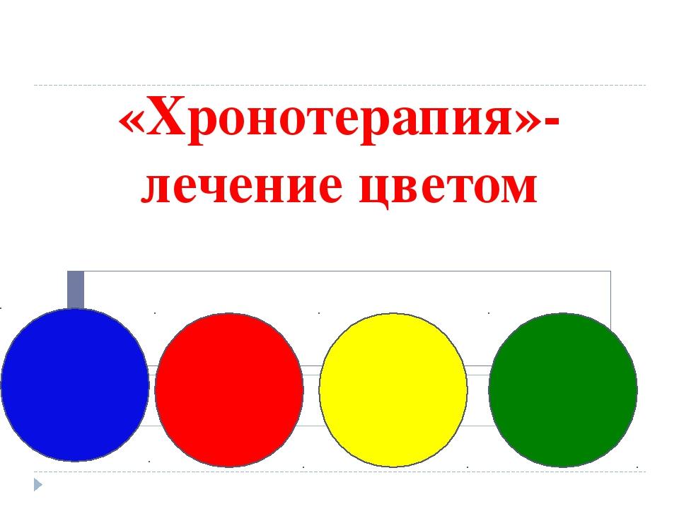 «Хронотерапия»- лечение цветом