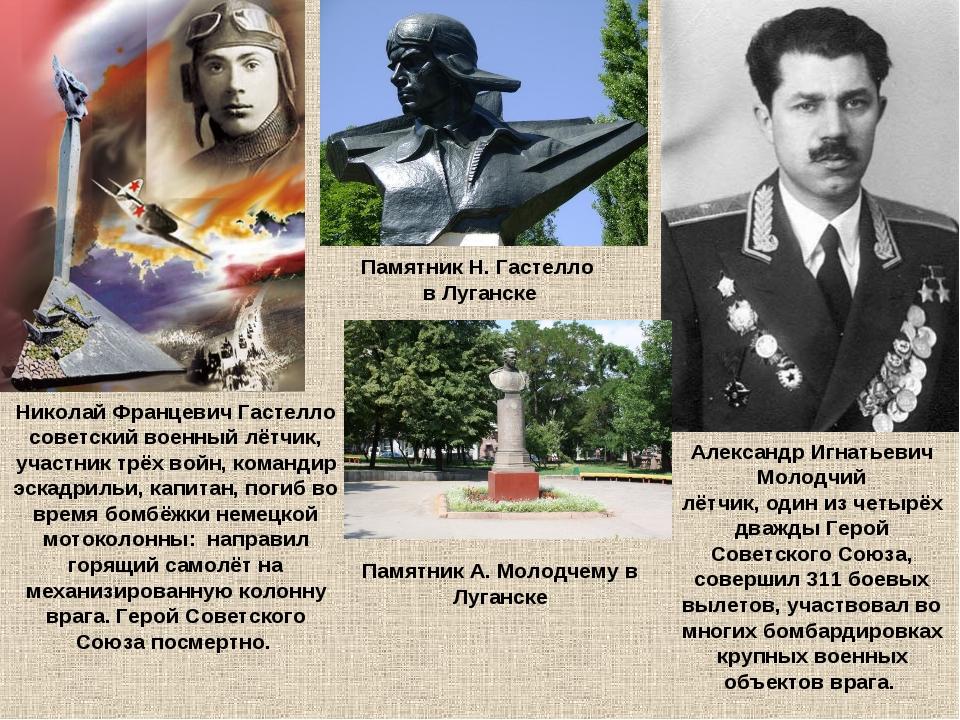 Николай Францевич Гастелло советский военный лётчик, участник трёх войн, кома...