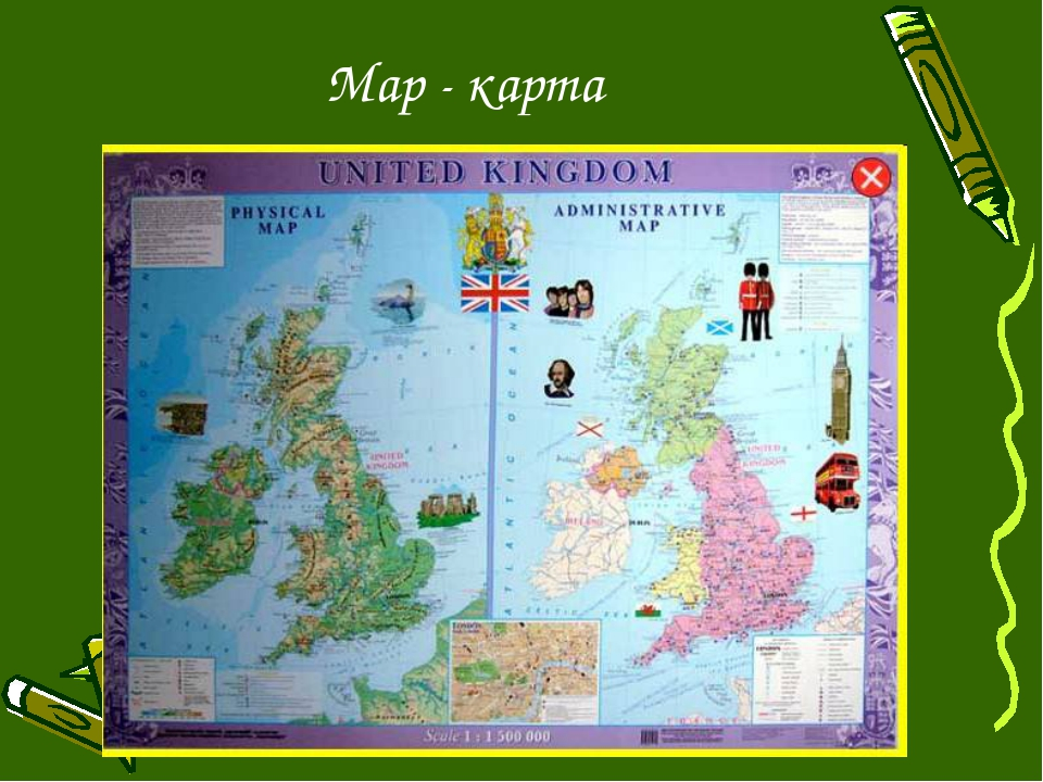 Map - карта