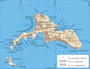 Остров Робинзона Крузо. Робинзон Крузо на острове. Карта острова Робинзона Крузо