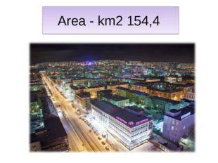 Area - km2 154,4