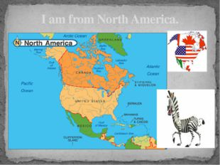 I am from North America.