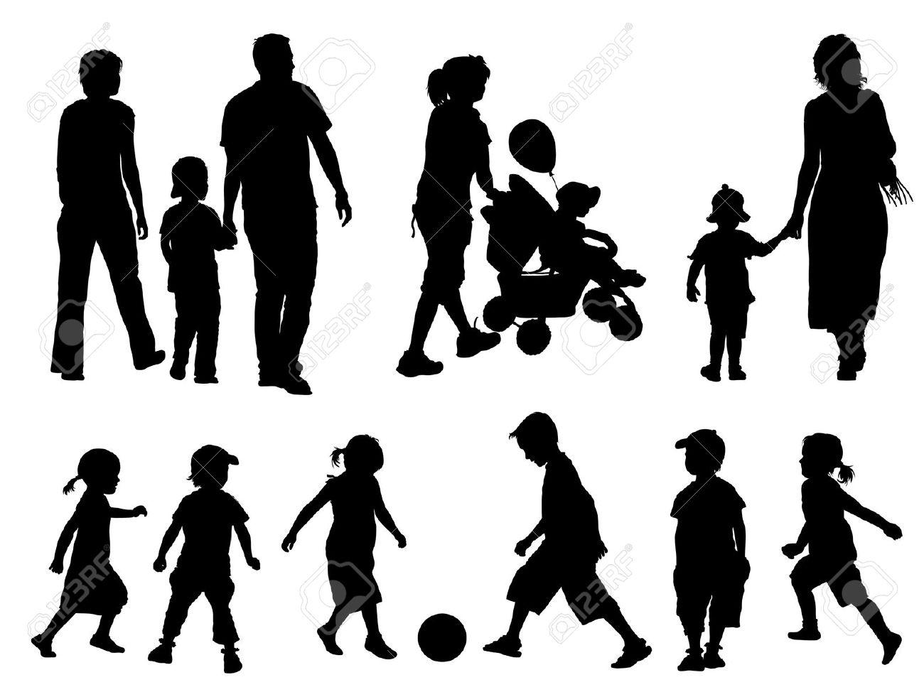 http://previews.123rf.com/images/Kamaga/Kamaga0908/Kamaga090800010/5330223-A-set-of-parents-and-children-silhouettes-Vector-illustration--Stock-Vector.jpg