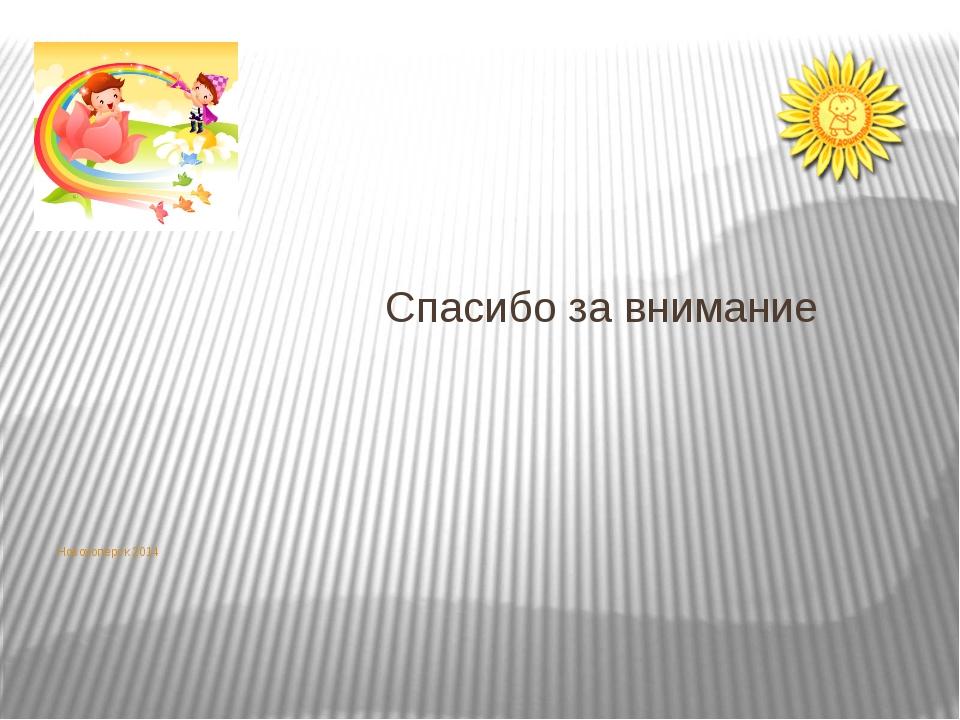Новохоперск 2014 Спасибо за внимание