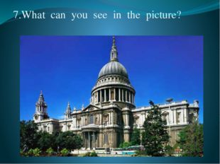 7.What  can  you  see  in  the  picture?