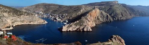 Бухты, проливы и заливы Крыма