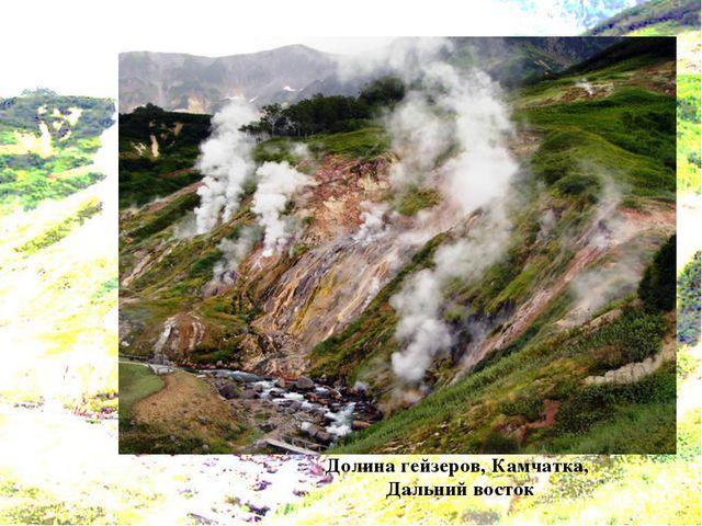 Долина гейзеров, Камчатка, Дальний восток