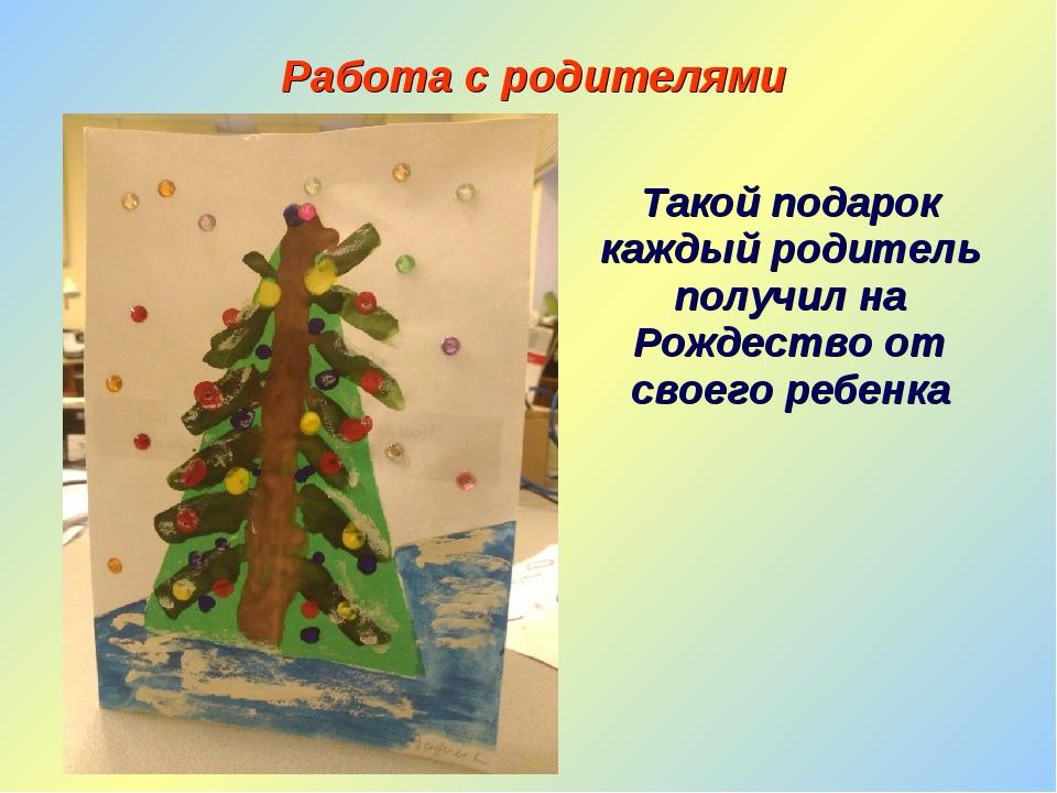 Такой подарок каждый родитель получил на Рождество от своего ребенка Работа с...