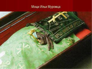 Мощи Ильи Муромца