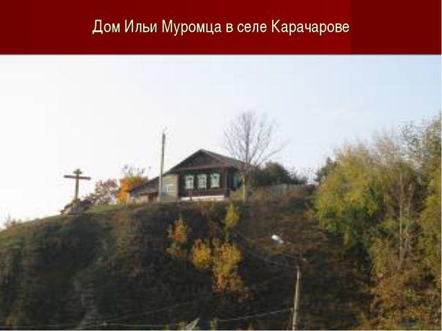 Дом Ильи Муромца в селе Карачарове