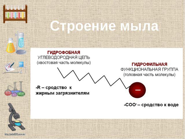 Строение мыла http://linda6035.ucoz.ru/