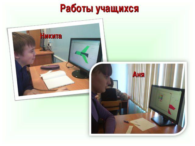 Работы учащихся Никита Аня
