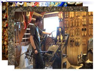 Кломпы – деревянные башмаки