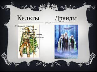 Кельты Друиды