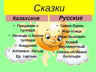 Сказки Казахские Предание о тулпаре Легенда о белом тулпаре Кокдонен Алпамыс