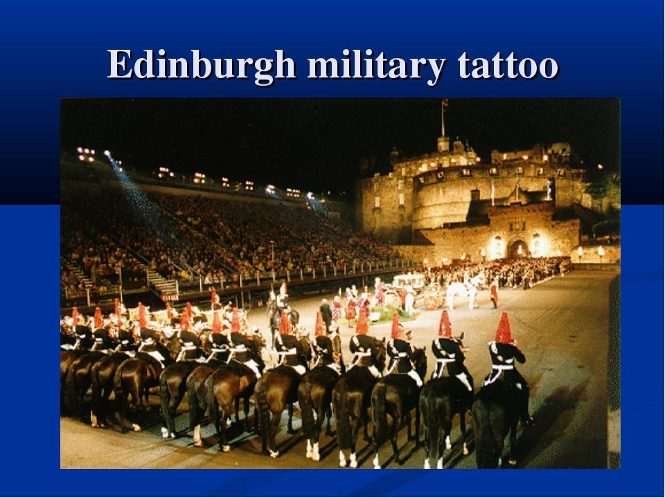 Edinburgh military tattoo