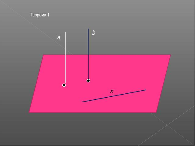 х Теорема 1