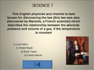 This English physicist and chemist is best known for discovering the law (thi
