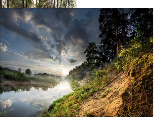 """Калужская область. Национальный парк """"Угра"""". Реконструкция лежневой дороги П..."""