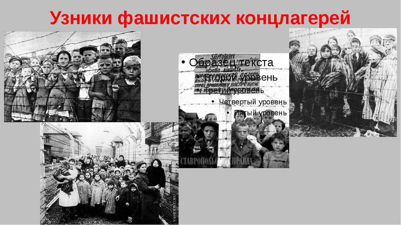 Узники фашистских концлагерей