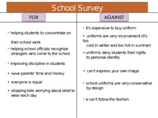 helping students to concentrate on their school work helping school official