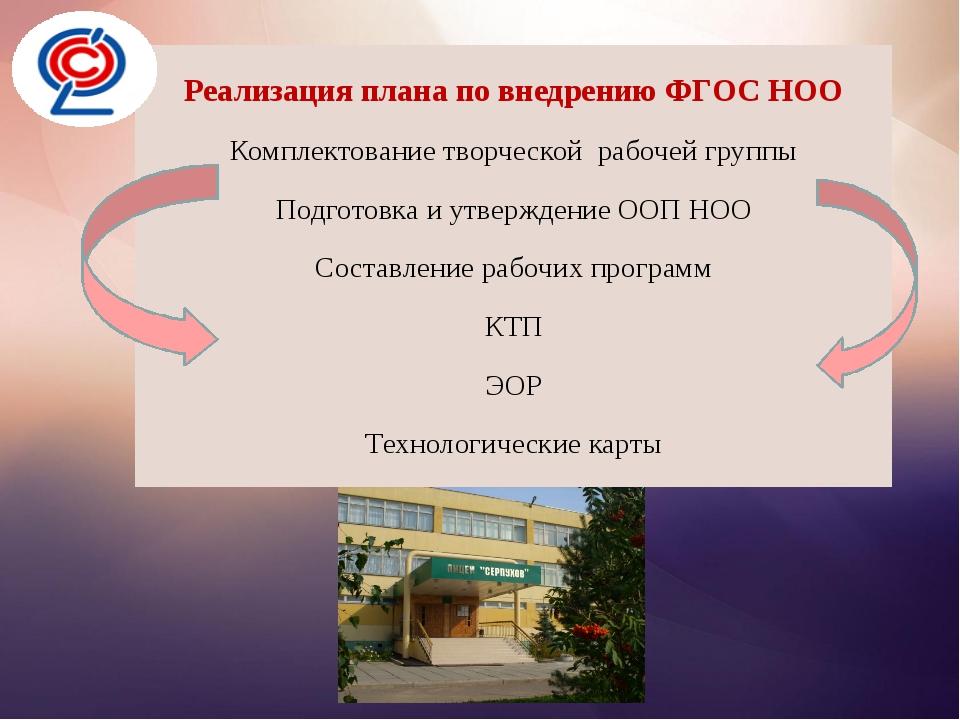 Реализация плана по внедрению ФГОС НОО Реализация плана по внедрению ФГОС НО...