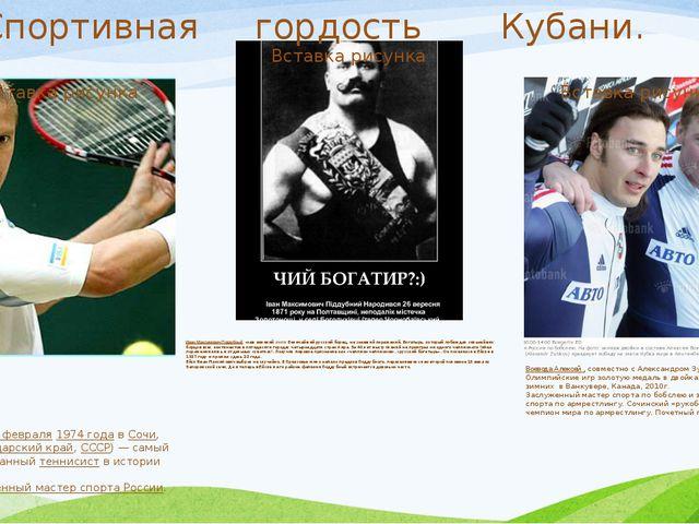 Евге́ний Алекса́ндрович Ка́фельников (род. 18 февраля 1974 года в Сочи, Красн...