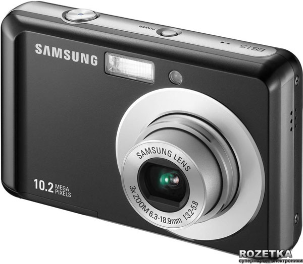 Цифровой фотоаппарат Samsung ES10. Описания, отзывы, характеристики, фотографии, цены на Samsung ES10 : I-M.COM.UA