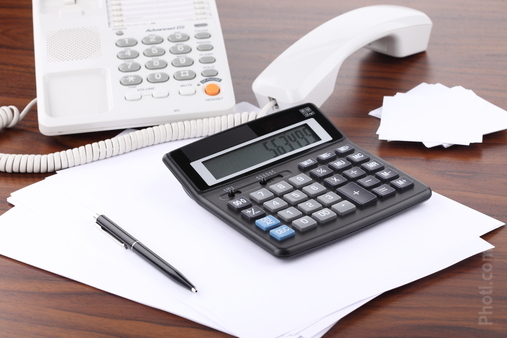 Documents, Calculators, Objects, Offices (photo 0009403873P) stock photo image buy and download from royalty free photo stock Ph