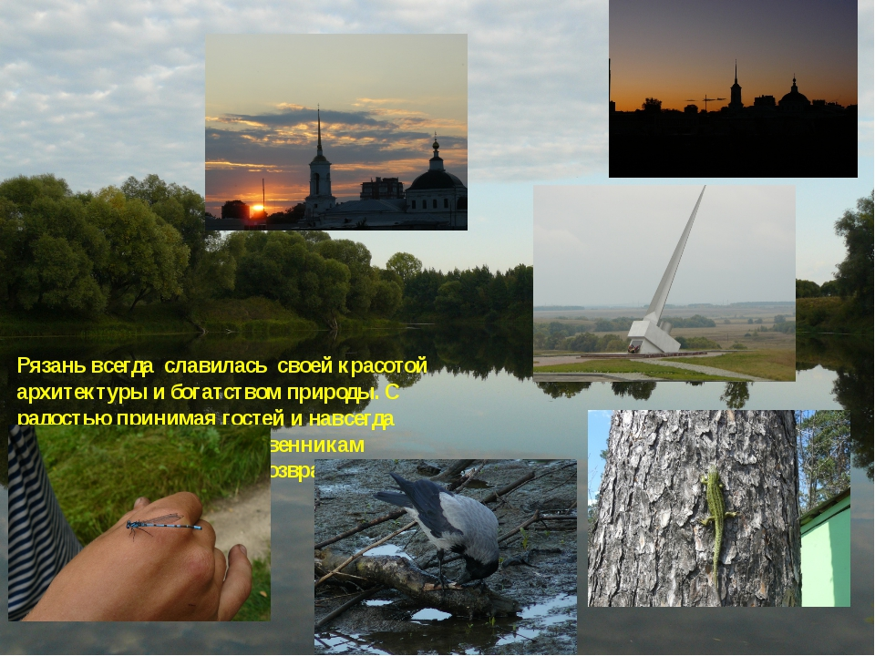 Рязань всегда славилась своей красотой архитектуры и богатством природы. С ра...