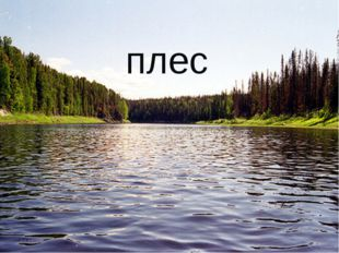* * плес