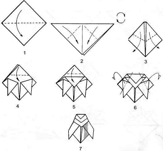 Как сделать из бумаги когти рыси из бой с тенью 2 оригами