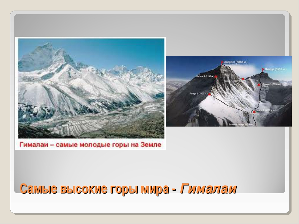 Самые высокие горы мира - Гималаи