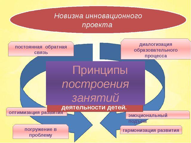 Новизна инновационного проекта погружение в проблему оптимизация развития эм...