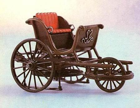 Самобеглая коляска Ивана Петровича Кулибина