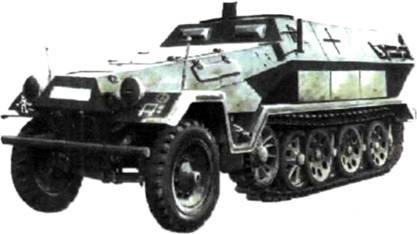 Командная машина Гудериана на базе бронетранспортера