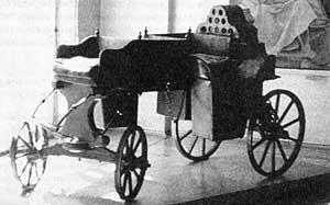 Реконструкция «самобеглой» коляски