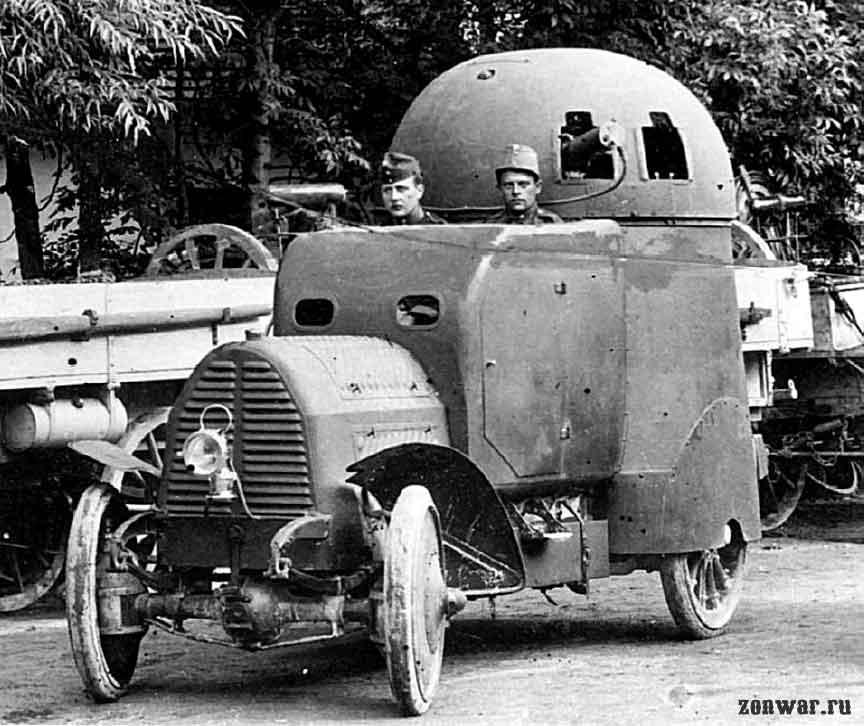 Бронеавтомобиль Аустро-Даймлер