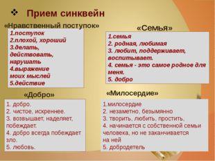 1.поступок 2.плохой, хороший 3.делать, действовать, нарушать 4.выражение моих