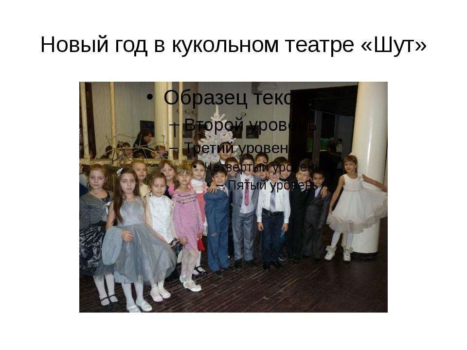 Новый год в кукольном театре «Шут»