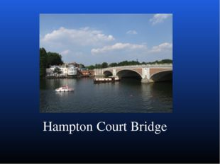 Hampton Court Bridge