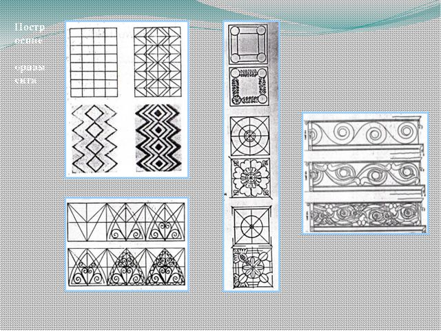 Построение орнамента